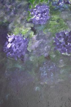 Hortensia I - tableau abstrait